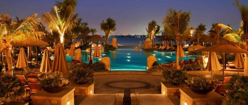 Sofitel Dubai The Palm Resort Außenanlage