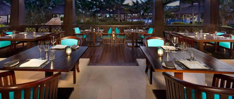 Sofitel Dubai The Palm Resort Restaurant