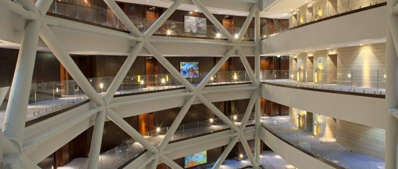Hyatt Capital Gate Atrium