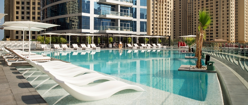 InterContinental Dubai Marina Pool
