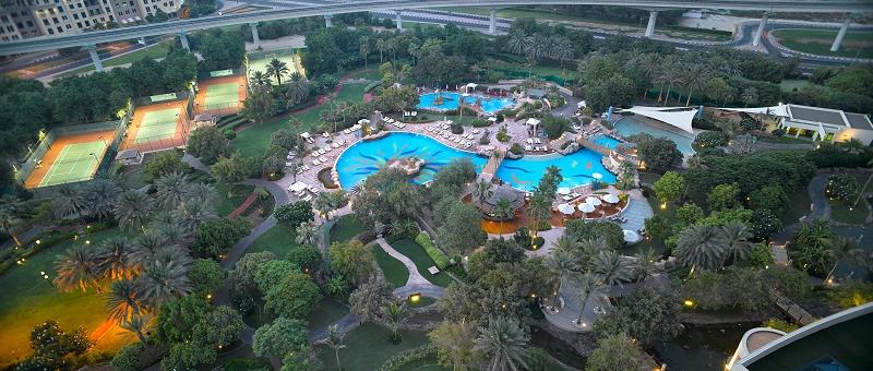 Grand Hyatt Dubai Außenanlage