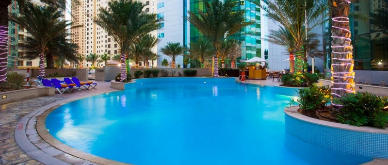 JA Oasis Beach Tower Pool