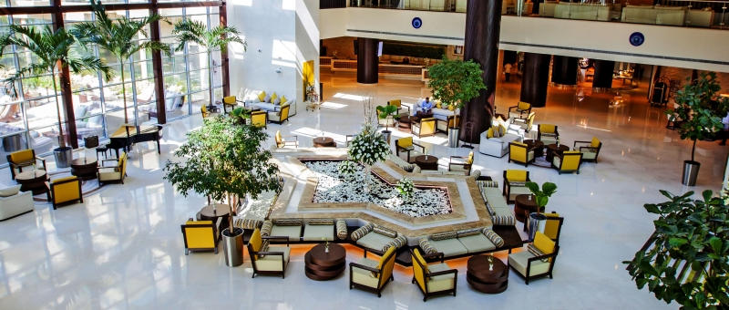 Rixos The Palm Dubai Lobby