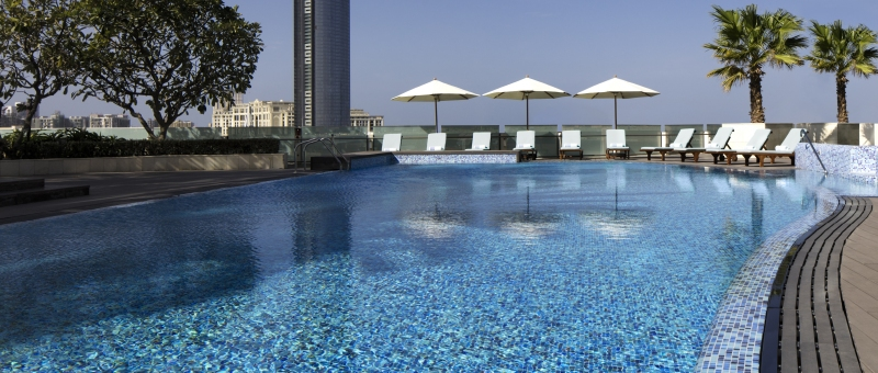 Crowne Plaza Dubai Festival City Pool