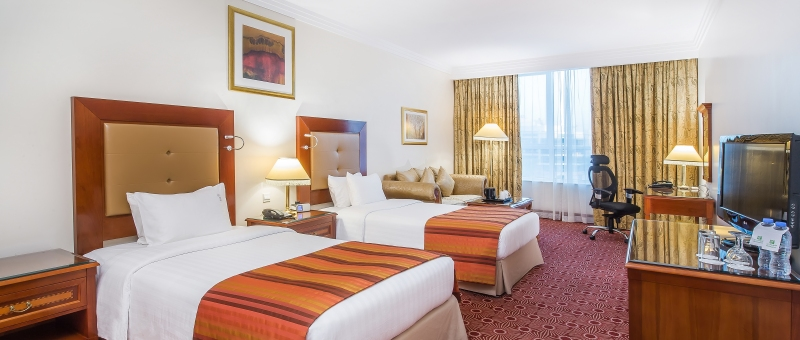 Holiday Inn Bur Dubai Embassy District Zimmer