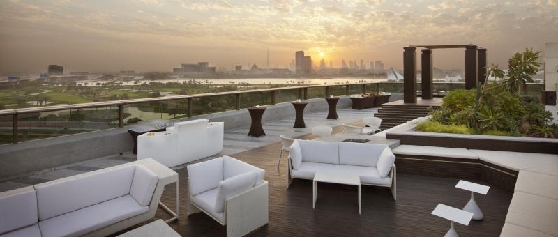 Jumeirah Creekside Hotel Rooftop