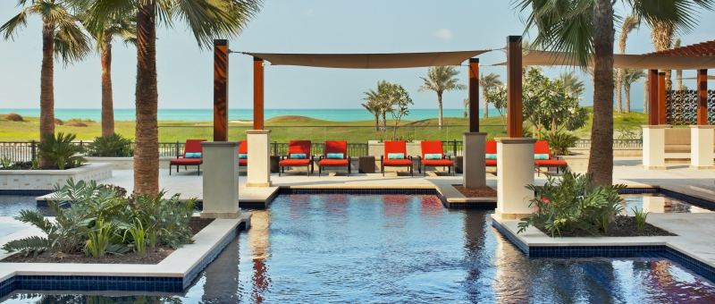 The St. Regis Saadiyat Island Resort Pool