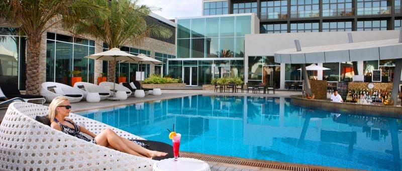 Yas Island Rotana Pool