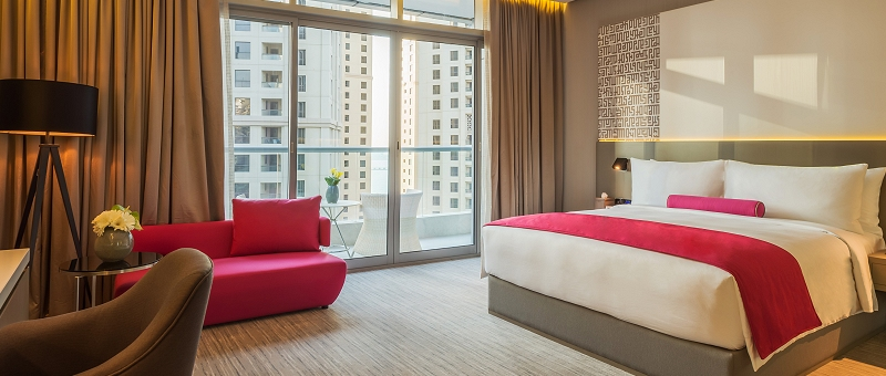 InterContinental Dubai Marina Zimmer