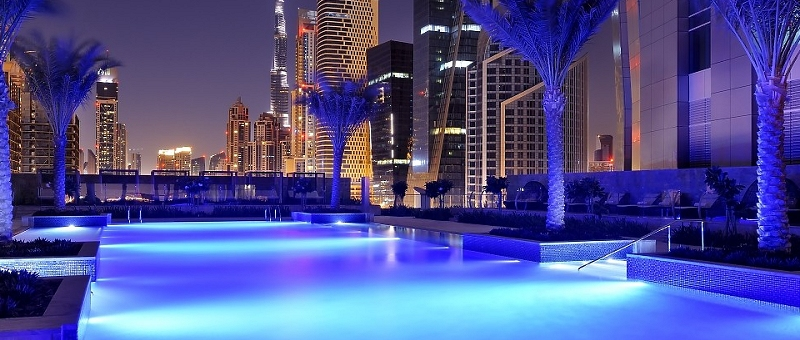 JW Marriott Marquis Dubai Pool