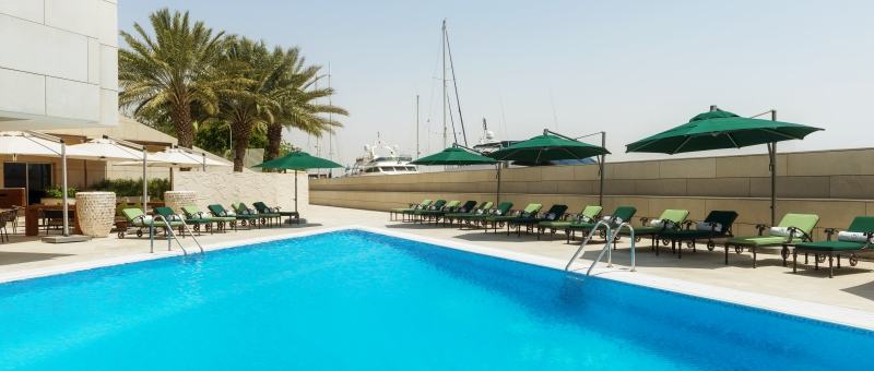 Sheraton Dubai Creek Hotel & Towers Pool