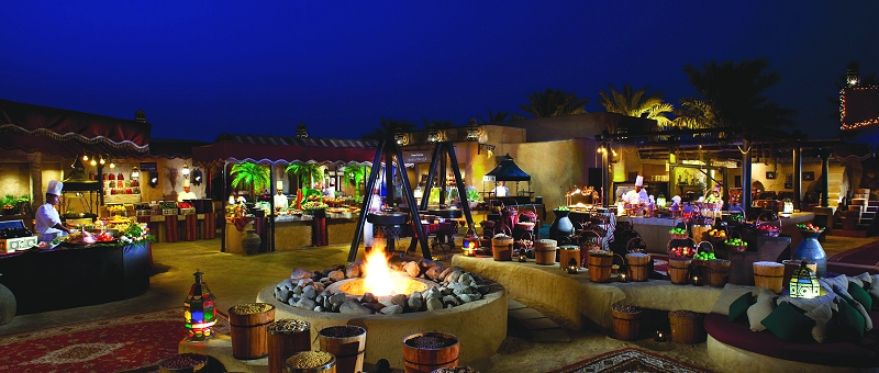 Bab Al Shams Desert Resort & Spa Restaurant