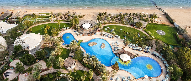 Le Meridien Al Aqah Beach Resort Pool