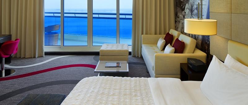 Le Meridien Al Aqah Beach Resort Zimmer