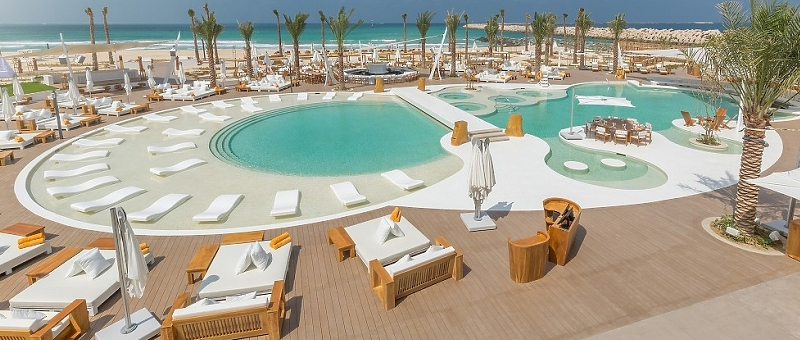 Nikki Beach Resort & Spa Dubai Pool